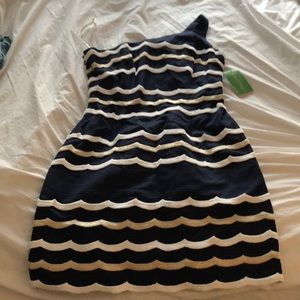 NWTs Lilly Pulitzer Navy Tyler Dress